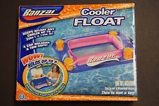 BANZAI COOLER FLOAT 4 CUP HOLDERS & TOW ROPE NEW IN BOX FOR POOL