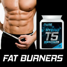 PURE NUTRITION T5 HYBRID FAT BURNER PILLS – MAX STRENGTH RIPPED WEIGHT-LOSS