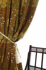 """William Morris Liberty of London Curtains 90"""" Drop 77"""" Wide Made To Order"""