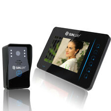 "7"" TFT Videocitofono Wireless Video Citofono Spioncino Campanello per Casa"