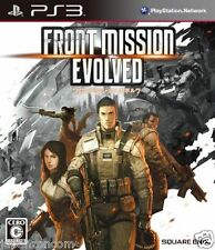Used PS3 Front Mission Evol SONY PLAYSTATION 3 JAPAN JP JAPANESE JAPONAIS IMPORT