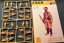 1/72 HAT Colonial Wars Indian Infantry MIB plastic figures 8203