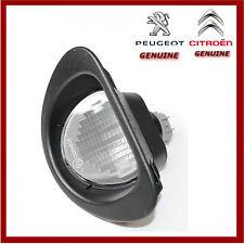 Genuine Peugeot 107 & Citroen C1 Number Plate Lamp / Light. New 6340E2