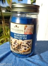 PAULA DEEN COLLECTION CANDLE JAR BLUEBERRY SKILLET PIE 12.5 oz.