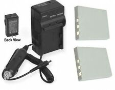 TWO 2 NP-40N Batteries + Charger for Fuji FujiFilm F610 F650 F700 F710 F810