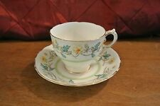 "Tuscan ""Plant"" England Bone China  Tea Cup  and Saucer"