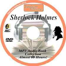 Sherlock Holmes  Audio Book Collection - 80 Books Almost 60 Hours!! on MP3 DVD