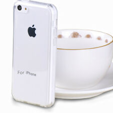 Slim Soft TPU Silicone Clear Crystal Back Case Cover Skin For Apple iPhone 5C