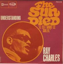 "RAY CHARLES THE SUN DIED 7"" French 1969 UNPLAYED !"