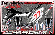 Honda CRF 125/150/250/450 Motocross MX Gráficos Pegatinas todos los años/