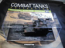 Deagostini Combat Tanks Issue 20 - M-109A6 Paladin SP Howitzer USA 1994 2ND INFA