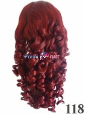 NEW IN BOX BURGUNDY LADIES WIG FUN FANCY DRESS TRANSVESTITE SISSY CROSSDRESSER