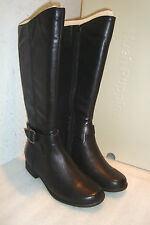 Hush Puppies Womens NWB Bikita Black Boots Shoes 5 MED NEW