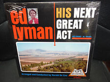 Ed Lyman His Nextr Great Act 33rpm vinyl recorded in ISRAEL by Harold De Cou
