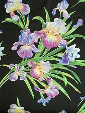 """Michael Miller Floral Fabric PRIMAVERA IRIS Fabric- 20"""""""