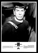 Leonard Nimoy Autogrammkarte bekannt aus Raumschiff Enterprise