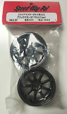 Speed Way Pal PA074-10BT Smoke Chrome 9-Spoke Wheels NIP