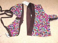 GIRLS SIZE  ( 14 ) *OLD NAVY* HEARTS / FLOWERS SWIMSUIT   NWT