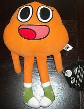 "STUFFED ANIMAL THE AMAZING WORLD OF GUMBALL 8"" DARWIN PLUSH DOLL"