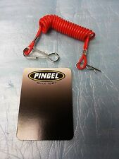PINGEL 600 DRAGBIKE RACE RED TETHER KILL SWITCH CORD DEAD MAN LANYARD