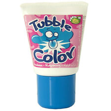 Bubble Color: RASPBERRY gum in a tube -35g-Made in France