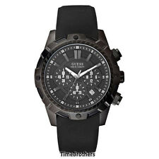NEW GUESS WATCH for Men * Chronograph * Date Window * Silicon Band * U0038G1