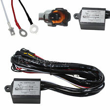 DRL LED Daytime Run Light Relay Harness Automatic On Off Control Switch 12V 3A