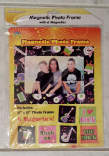 KBI Designs Multicolor Magnetic Musical Instruments Photo Frame And 6 Magnets