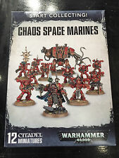 Warhammer 40,000 Start Collecting Chaos Space Marines