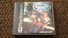 Chrono Cross (Sony PlayStation 1 PS1 Game) Tested & Complete Black Label