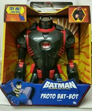 Batman Brave & the Bold Proto Bat Bot large figure NIB DC COMICS Bat-bot blaster