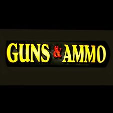 GUNS & AMMO DEALER SIGN / STORE SIGN / GUN OWNER SIGN - LED SIGN BOX