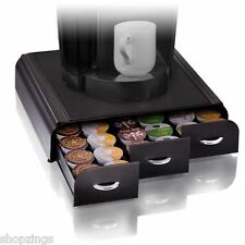 Anchor Keurig K-cups Pods Storage Coffee Holder Organizer Cups Drawer Black Case