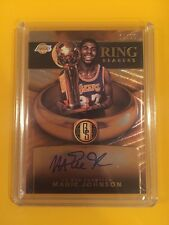 2015-16 Gold Standard Ring Bearers Auto Magic Johnson /25