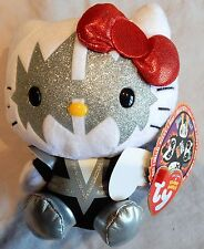 SPACEMAN - TY HELLO KITTY KISS BEANIE BABY - NEW with MINT TAGS