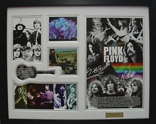 Pink Floyd Limited Edition Signature Framed Memorabilia (w)