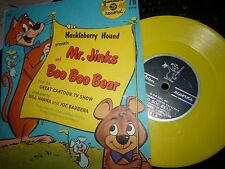 Huckleberry Hound Presents Mr.Jinks & Boo Boo Bear Golden record w/Picture sleev