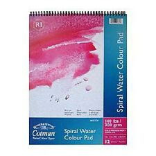 "Winsor & Newton Cotman Watercolour Pad 140lb / 300gsm NOT - Spiral Bound 14""x10"""