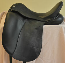 Custom Saddlery, Wolfgang Expression, Dressage Saddle 17.5""