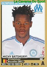 238 MICHY BATSHUAYI # BELGIQUE OLYMPIQUE MARSEILLE OM STICKER PANINI FOOT 2016