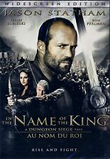BRAND NEW DVD //  IN THE NAME OF THE KING //JASON STATHAM, RON PERLMAN