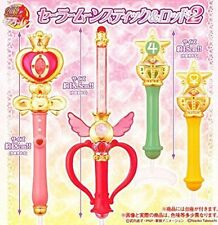 Bandai Sailor Moon Wands Gashapon Vol 2 Stick Rod Transformation Wands set of 4
