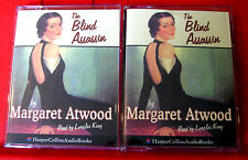 Margaret Atwood The Blind Assassin 4-Tape Audio Book Lorelei King Historical