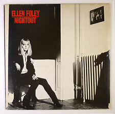 "12"" LP - Ellen Foley - Nightout - B2823 - washed & cleaned"