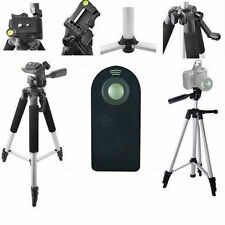"Lightweight 57"" Photo Tripod + REMOTE For Canon EOS Rebel T3 T3I T5 SL1 XT XTI"