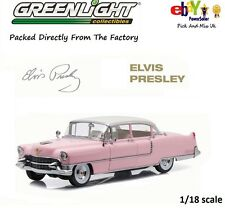"1955 PINK CADILLAC FLEETWOOD SERIES 60 ""ELVIS PRESLEY"" 1:18 GREENLIGHT 12950"