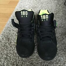 Nike Air Force 180 Black/Volt - Size 11.5