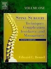 Spine Surgery: Techniques, Complication Avoidance, and Management, 2 V-ExLibrary