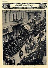 Dalla Romfahrt del (tedesca) imperatore 1903 immagine storica documenti