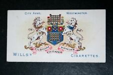 WESTMINSTER  Coat of Arms   London   Vintage Card  VGC